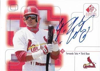 1999 UD SP Signature Edition FTa Autograph