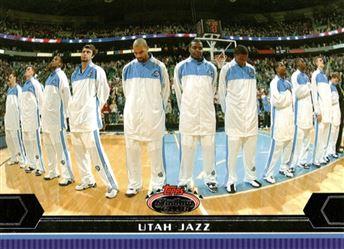2007-08 Topps Stadium Club Super Teams Utah Jazz