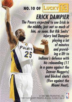 10. Erick Dampier
