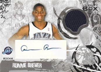 Luxury Box Rookie Relics Auto RBR (a2) Silver
