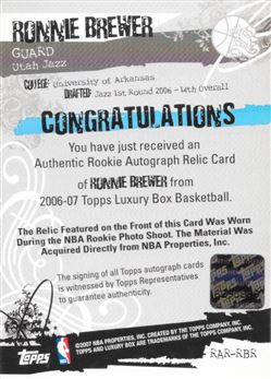 221 Luxury Box Rookie Relics Auto RBR Silver
