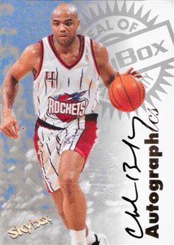 1997-98 Skybox Charles Barkley Autographics