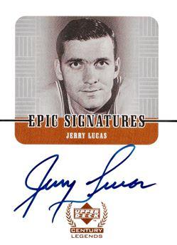 1999 Century Legends JL Jerry Lucas Epic Signatures