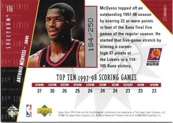 116 Antonio Mcdyess SP