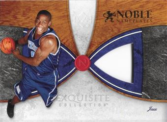 2006-07 Exquisite Noble Nameplates proof card