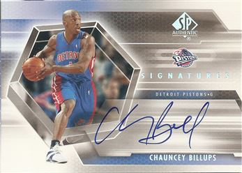 2004-05 SP Authentic Signatures #CH Chauncey Billups