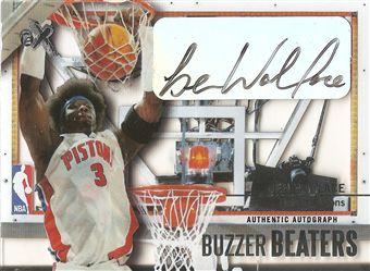 2003-04 E-X Buzzer Beaters Autographs #1 Ben Wallace/299