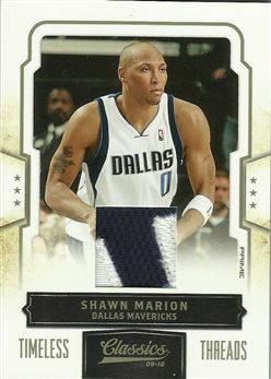 2009-10 Classics Timeless Threads Prime #19 Shawn Marion/5