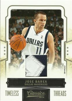 2009-10 Classics Timeless Threads Prime #21 J.J. Barea/25
