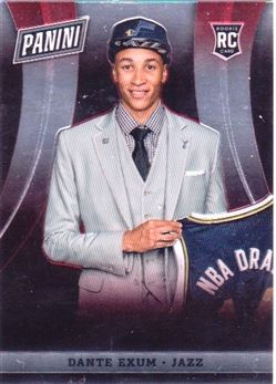 2014 Panini National Convention Red Parallel #033 Dante Exum