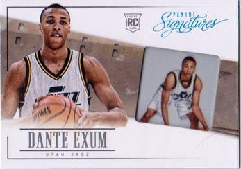 2013-14 Panini Signatures '14 Draft X-Change #5 Dante Exum