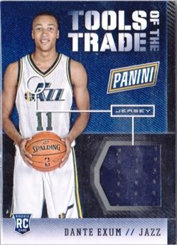 2014 Panini Boxing Day Tools of the Trade #1 Dante Exum