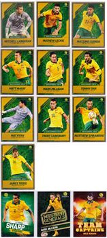 2015-16 TapNPlay Socceroos Gold Parallel 02