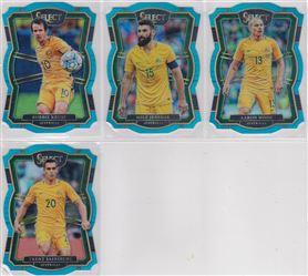 2017-2018 Panini Select Soccer 06 Prizm Light Blue Die Cut 249