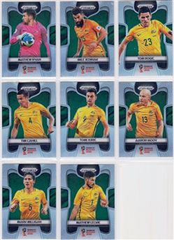 2018 Panini Prizm World Cup 03 Parallel Silver