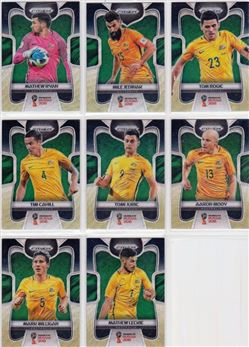 2018 Panini Prizm World Cup 07 Parallel Black-Gold Wave