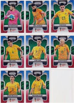 2018 Panini Prizm World Cup 10 Parallel Red-Blue Wave