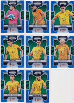 2018 Panini Prizm World Cup 11 Parallel Blue 199