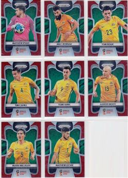 2018 Panini Prizm World Cup 12 Parallel Red 149