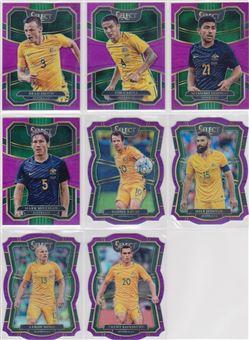 2017-2018 Panini Select Soccer 07 Prizm Fuschia 125-Purple 149
