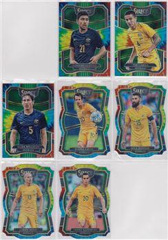 2017-2018 Panini Select Soccer 09 Prizm Tie Dye 30