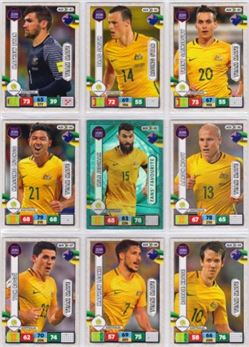 2017 Panini Adrenalyn XL Road to 2018 World Cup