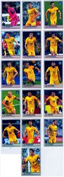 2017 Panini Road to 2018 World Cup Stickers