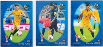 2017 Russia World Cup Trading Cards 2018 (Blue Border)