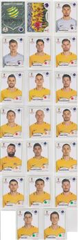 2018 Panini World Cup Stickers Pink Back Edition
