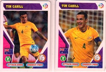 2018 Unknown issuer (Peru) World Cup Trading Card Game 2018 #Tim Cahill