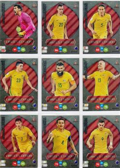 2018 Panini Adrenalyn XL Limited Editions