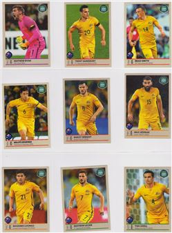 2018 Panini Road to World Cup Brazil Version