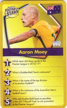 2018 Top Trumps World Football Stars #Aaron Mooy