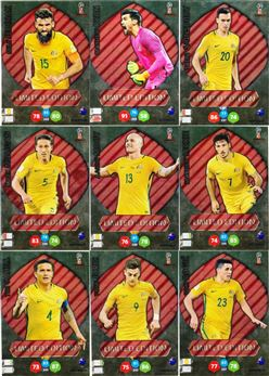 2018 Panini Adrenalyn XXL World Cup Limited Edition