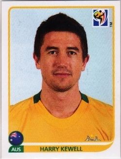 2010 Panini World Cup Stickers Coca Cola Update #NNO Harry Kewell