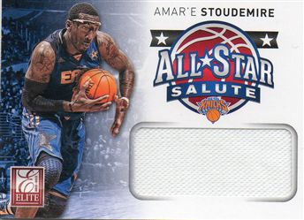 2012-13 Elite All-Star Salute Materials #24 Amare Stoudemire