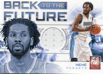 2012-13 Elite Back to the Future Materials #16 Nene