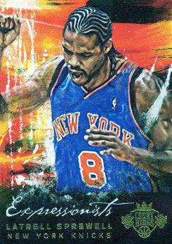 2014-15 Court Kings Expressionists #2 Latrell Sprewell