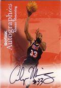 1999-00 Skybox Premium Autographics Black
