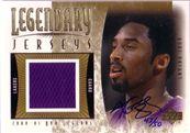 2001-02 Upper Deck Legends Legendary Jersey Autographs