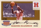 2001 Fleer Greats of the Game All-American Collection Autographs