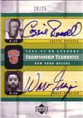2003-04 Upper Deck Legends Championship Teammates Dual Autographs
