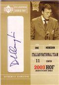 2003-04 Upper Deck Legends Hall of Fame Induction Ink