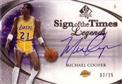 2005-06 SP Authentic Sign of the Times Legends
