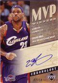 2006-07 Chronology MVP Winners