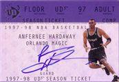 1997-98 Ud3 Season Ticket Autograph