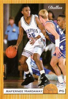 1993 Classic Draft Draft Day #1 Anfernee Hardaway/Dallas