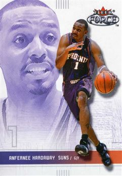 2001-02 Fleer Force #86 Anfernee Hardaway