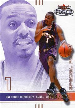 2001-02 Fleer Force Special Forces #86 Anfernee Hardaway