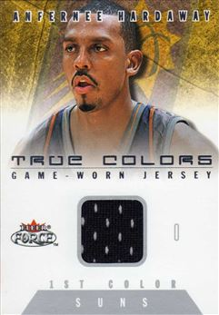 2001-02 Fleer Force True Colors Jerseys #27 Anfernee Hardaway